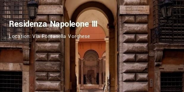 residenza napoleone iii hotel