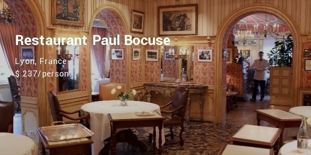 restaurant paul bocuse, lyon, france