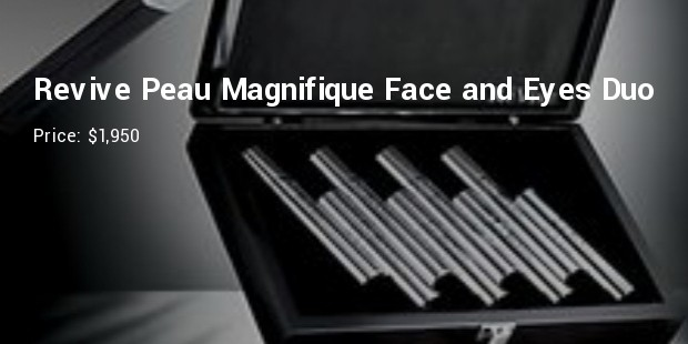 revive peau magnifique face and eyes duo   $1,950