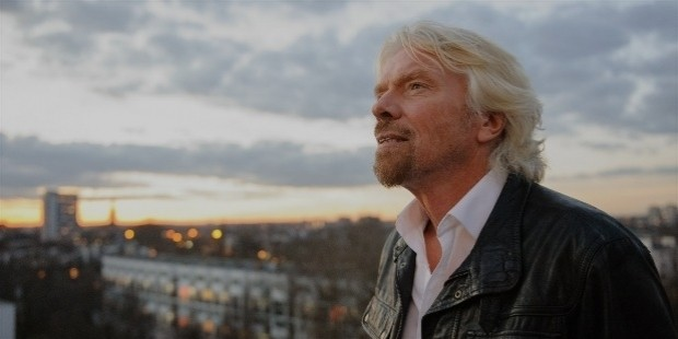 richard branson wake up time