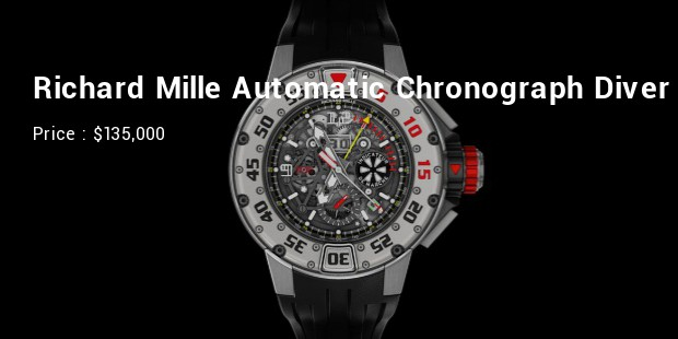 richard mille automatic chronograph diver