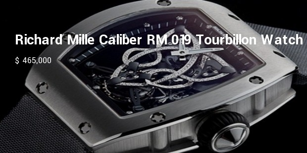 richard mille caliber rm 019 tourbillon watch