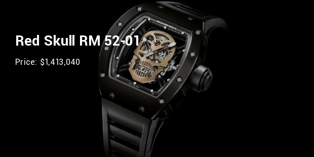 richard mille rm 52 01 tourbillon skull nano ceramic 01