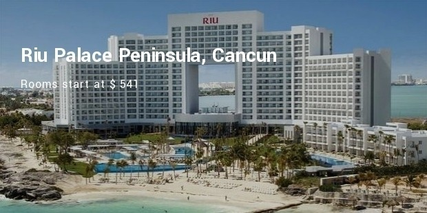 riu palace peninsula, cancun