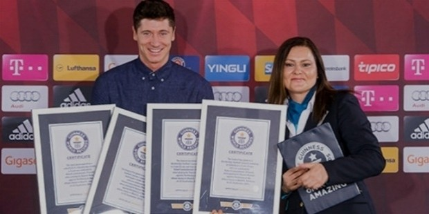 robert lewondski guinnes record