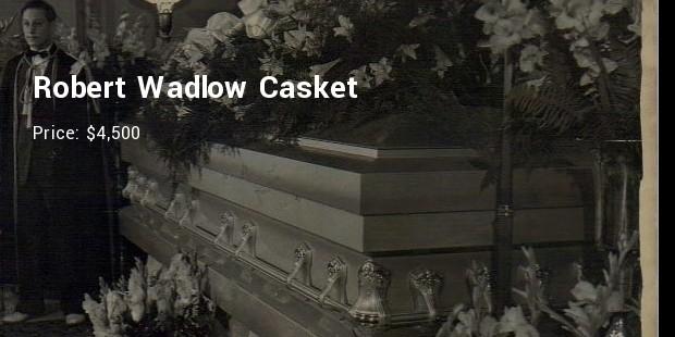 robert wadlow casket