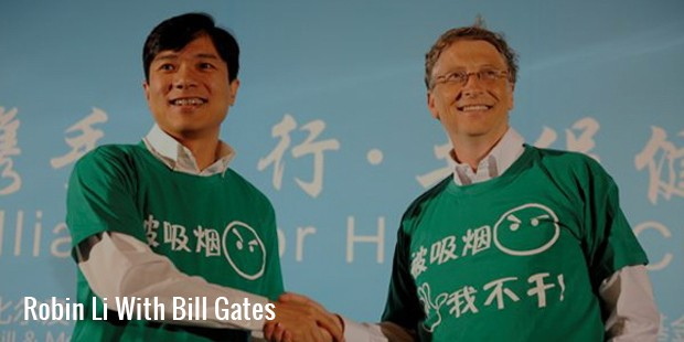 robin with bill gates