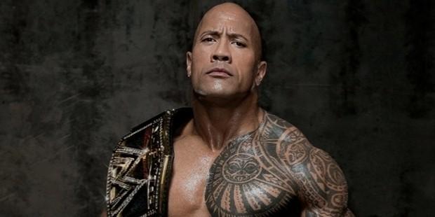 rock wwe champion