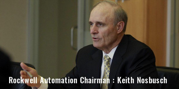 rockwell automation chairman