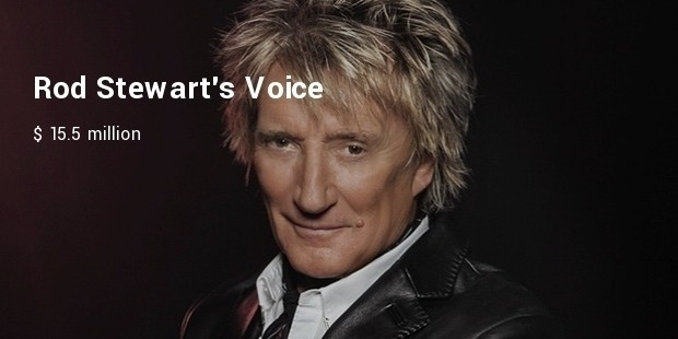 rod stewarts voice
