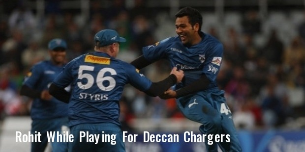 rohit deccan chargers