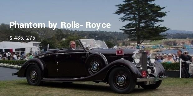rolls royce phantom iii vanvooren cabriolet