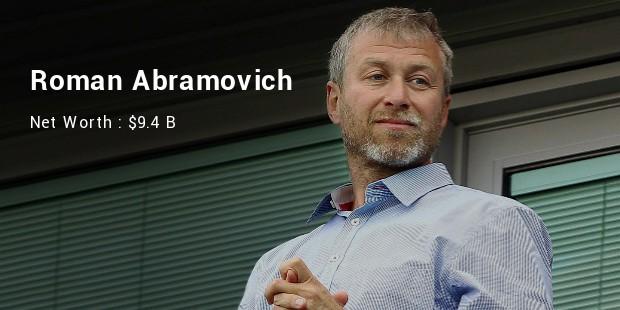 roman abramovich net worth