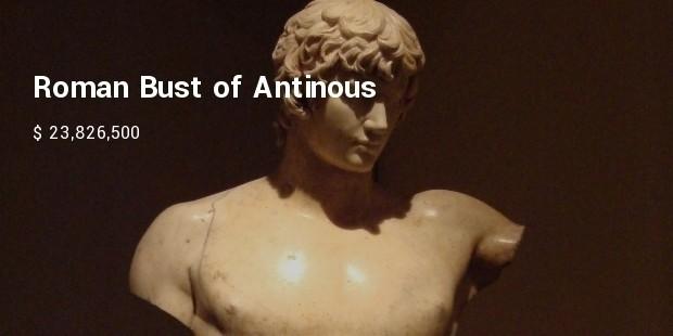 roman bust of antinous