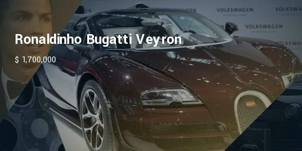 ronaldinho : bugatti veyron