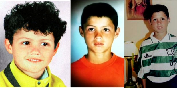 Image result for cristiano ronaldo childhood