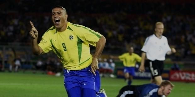 ronaldo con brasil