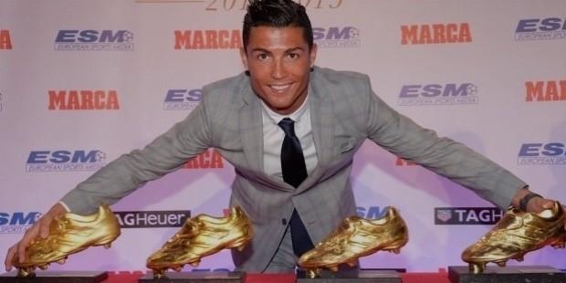ronaldo golden boots
