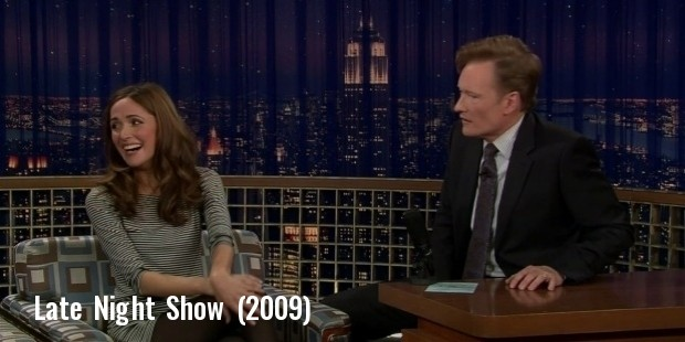 rose byrne late night with conan o brien