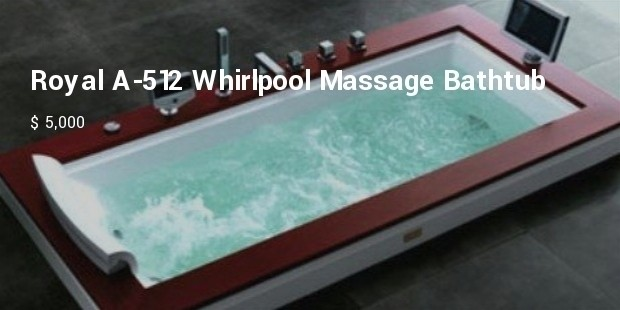 royal a 512 whirlpool massage bathtub