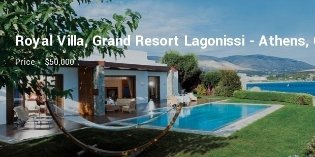 royal villa, grand resort lagonissi   athens, greece