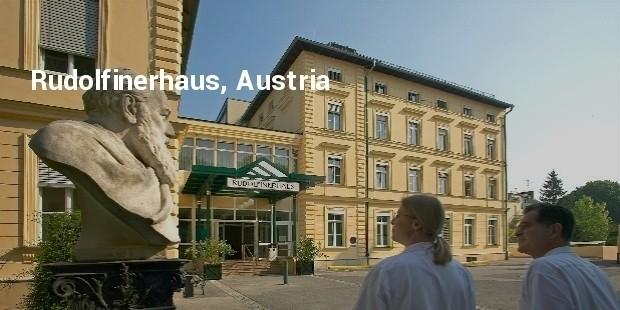 rudolfinerhaus, austria