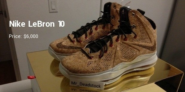 10 Most Expensive Nike Lebrons Expenditure Successstory