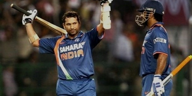 sachin double hundred