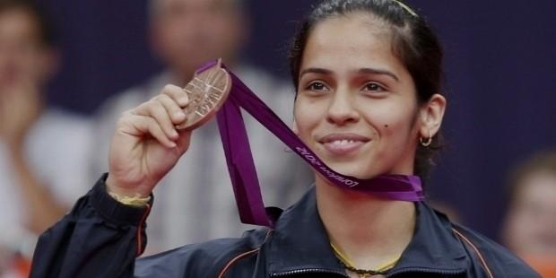 saina nehwal olympic medal