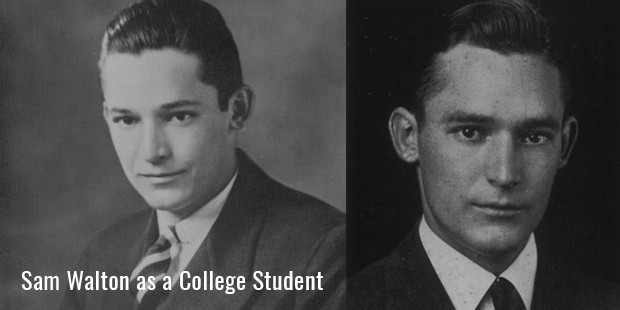 sam walton as a college student 1