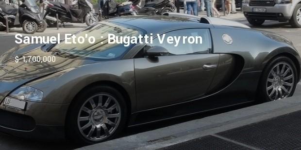 samuel etoo : bugatti veyron