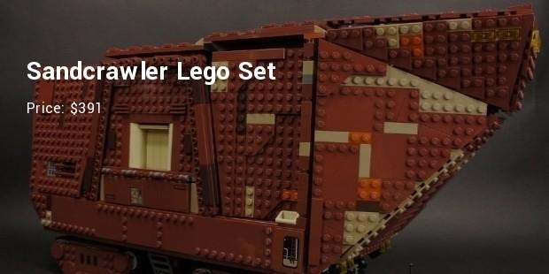 sandcrawler lego set   $391