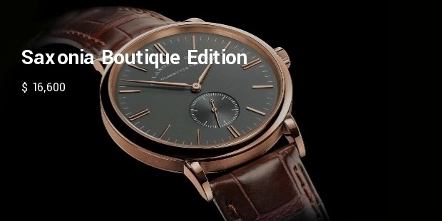 saxonia boutique edition in pink gold