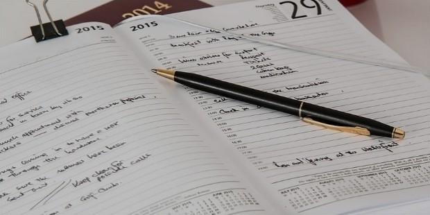schedule weekly