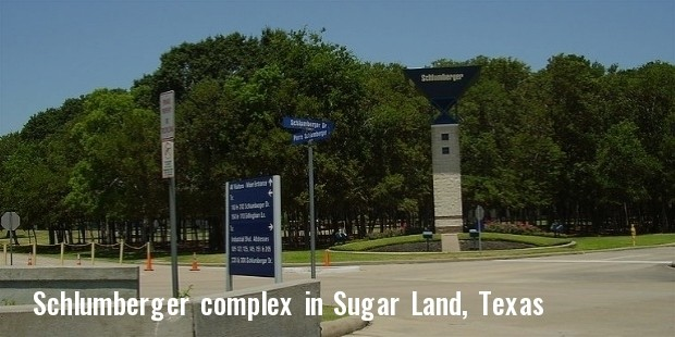 schlumberger complex in sugar land, texas