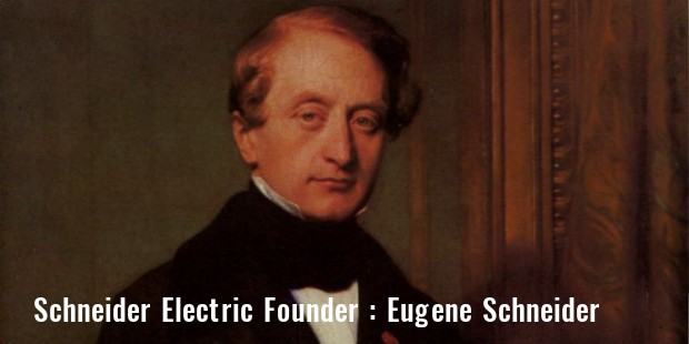 schneider electric founder