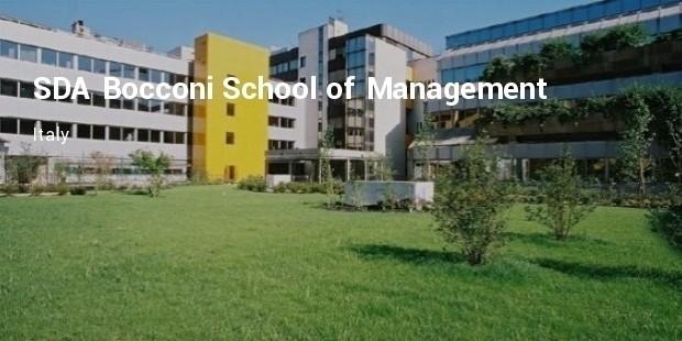 sda bocconi school of management  italy