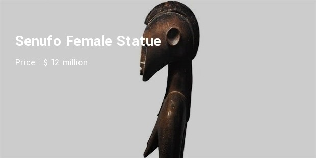senufo female statue