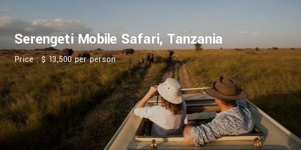 serengeti mobile safari tanzania