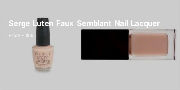 serge luten faux semblant nail lacquer
