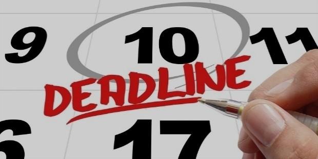 set a deadline to meet goal
