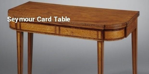 seymour card table