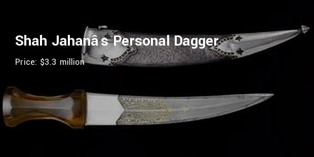 shah jahans personal dagger