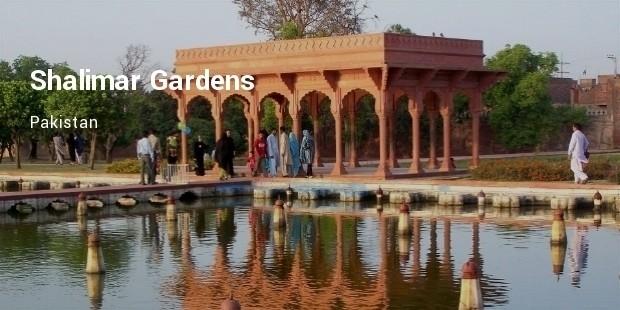 shalimar gardens, pakistan