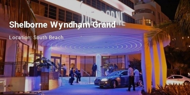 shelborne wyndham hotel