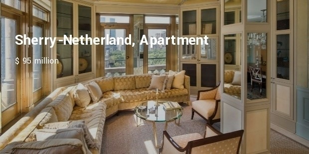 sherry netherland, apartment
