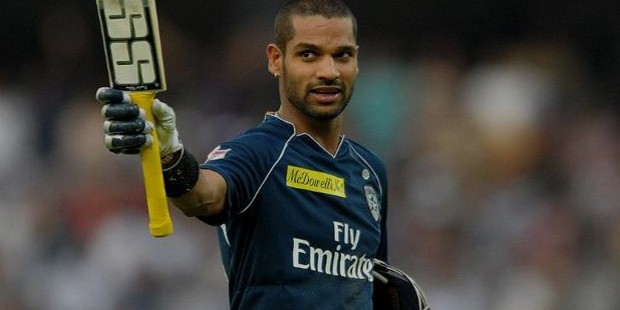 shikhar dhawan early life