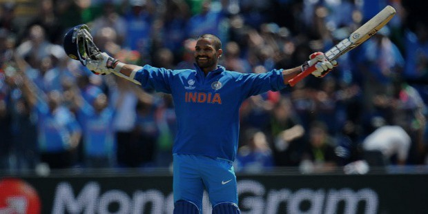 shikhar dhawan made 114 runs against south africa