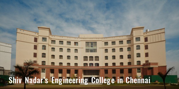 shiv nadar engineering college in chennai