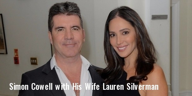 simon cowell and lauren silverma